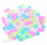 1Bag (36grain) Colouful Plastic Bike Bicycle Wheel Spokes Beads Bicycle Clip Beads Wire Beads Luminous Spoke Decorations - B074597K51