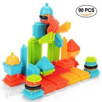 Baby Toys Building Toys Stacking Blocks Toddler Toys NextX Creative Gifts Learning Toys Educational Toys for Girls and Boys (90 PCS) - B074M75MVG