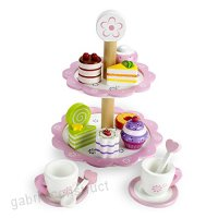 Wood Eats Tea Time Pastry Tower by Imagination Generation by Imagination Generation - B0161MP7SA