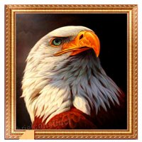 AIHOME Eagle DIY 5D Diamond Embroidery Painting Mosaic Rhinestone Cross Stitch Kits for Home Decor - B06XS99FQH