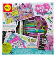 ALEX Toys Craft Friends 4 Ever Scrapbook Kit with 48-Page Hardcover Book by ALEX Toys - B017A3F9ZA